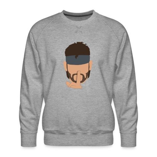 Solid Snake Simplistic - Men's Premium Sweatshirt