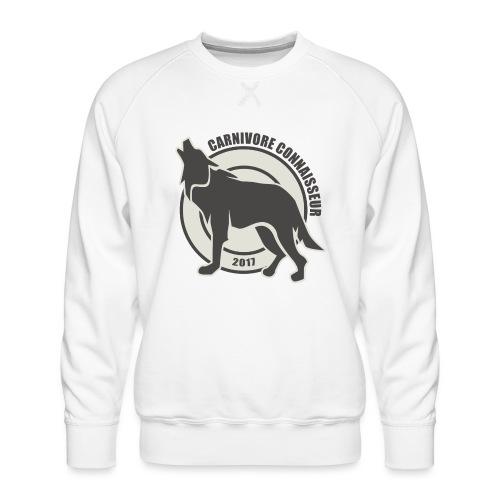 Fleischfresser - Grillshirt - Der mit dem Wolf heu - Männer Premium Pullover