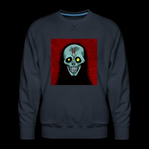 Ghost skull - Men's Premium Sweatshirt