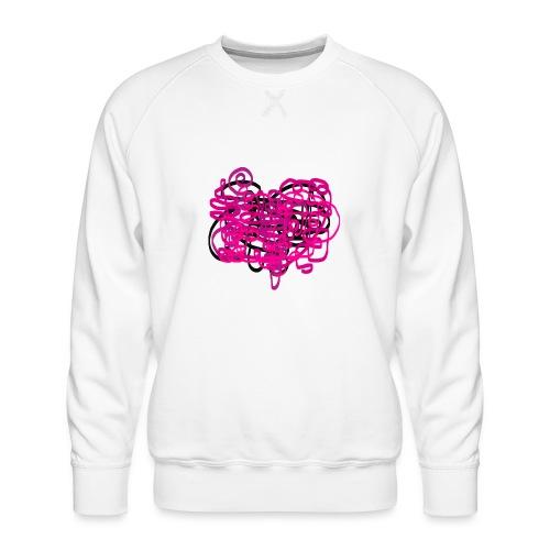 delicious pink - Men's Premium Sweatshirt