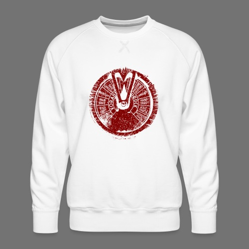 Maschinentelegraph (red oldstyle) - Men's Premium Sweatshirt