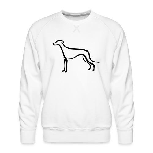 Greyhound - Männer Premium Pullover