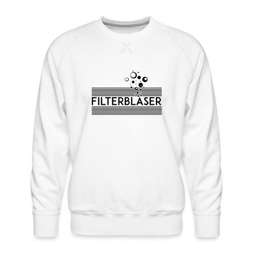 Filterbläser schwarz - Männer Premium Pullover