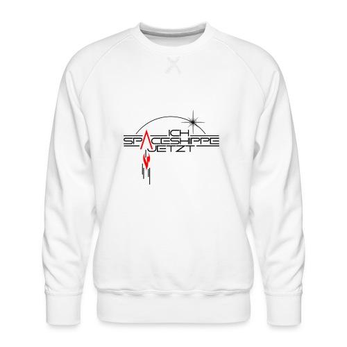 Ich spaceshippe jetzt - Männer Premium Pullover