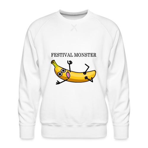 Festival Banane - Männer Premium Pullover