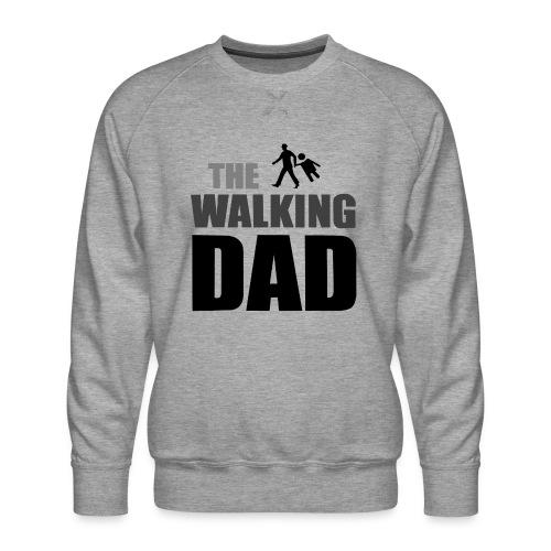 the walking dad auf dem Weg in die lustige Bar - Männer Premium Pullover