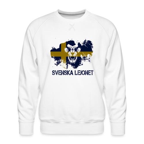 Svenska Lejonet Official Chest Logo - Premiumtröja herr