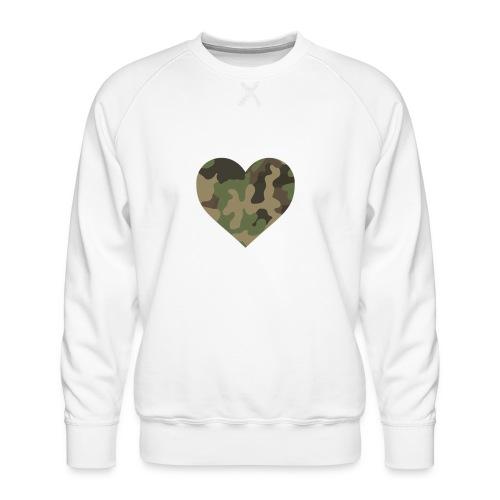 CamoHearth - Bluza męska Premium