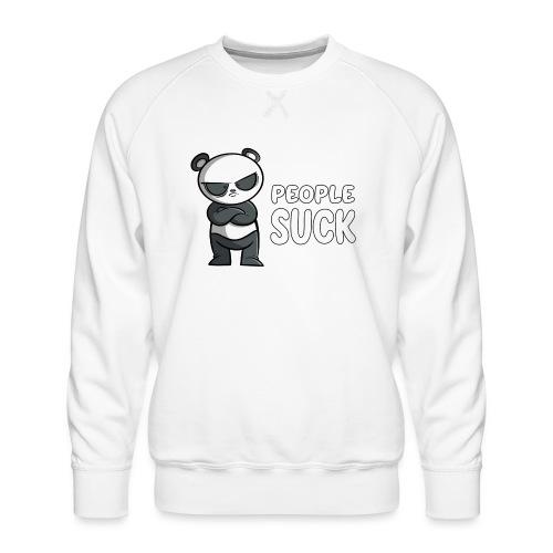 People Suck - Panda - Männer Premium Pullover