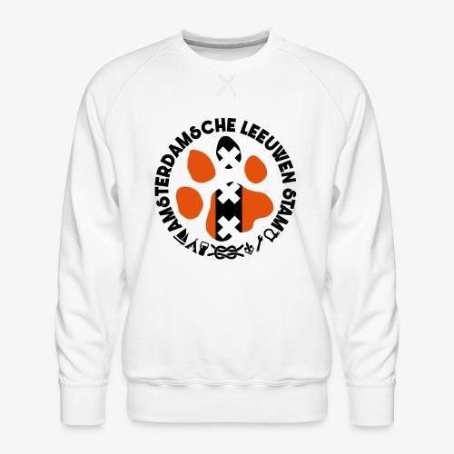 ALS witte rand licht - Mannen premium sweater