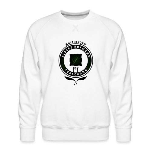 AlbertHofmann_Forschung - Männer Premium Pullover