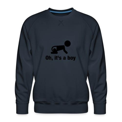 Baby Boy - Männer Premium Pullover
