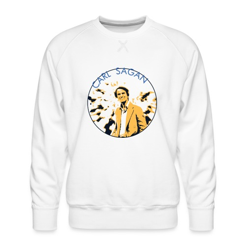 Vintage Carl Sagan - Men's Premium Sweatshirt