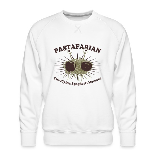The Flying Spaghetti Monster - Men's Premium Sweatshirt