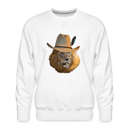 Löwe auf Safari - Männer Premium Pullover