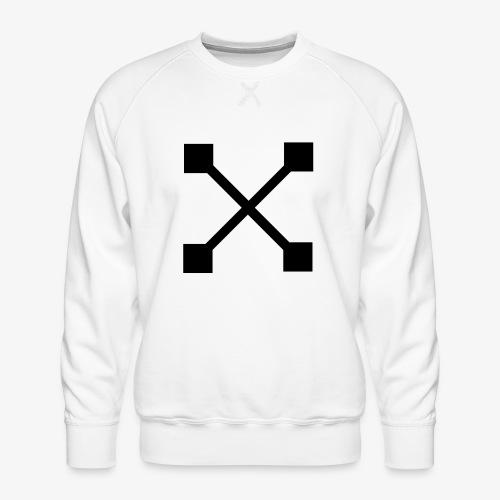 X BLK - Männer Premium Pullover