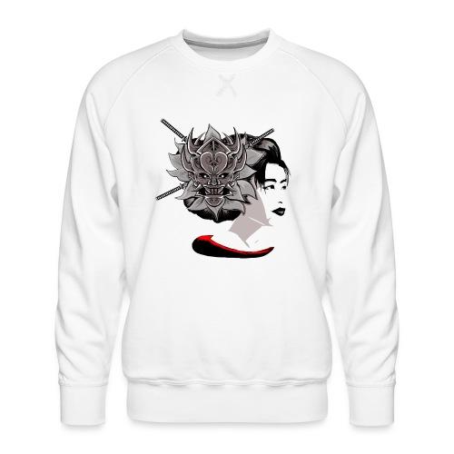 Warrior Flower - Mannen premium sweater