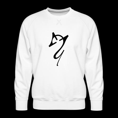 Overscoped Logo - Men's Premium Sweatshirt