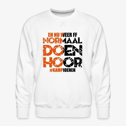 Normaal doen hoor - Mannen premium sweater