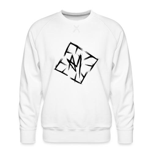 Across Yourself - Logo black transparent - Men's Premium Sweatshirt