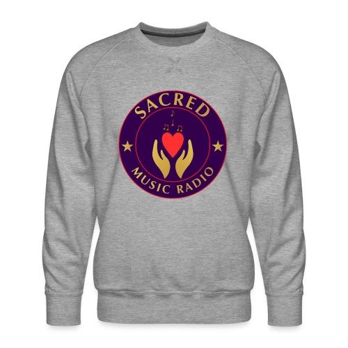 Spread Peace Through Music - Men's Premium Sweatshirt
