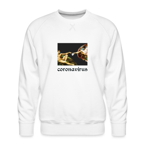 coronavirus, коронавирус, its coronatime, covi 19 - Men's Premium Sweatshirt