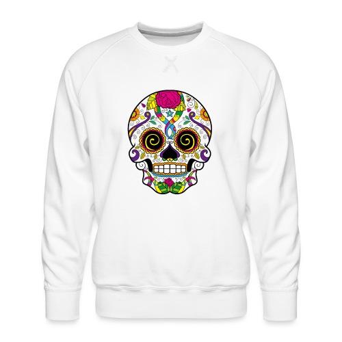 skull3 - Felpa premium da uomo