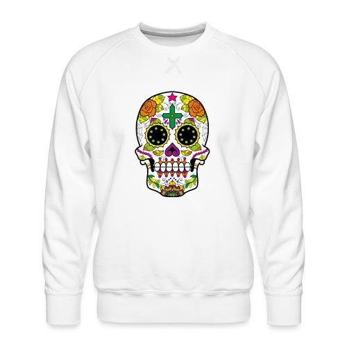 skull4 - Felpa premium da uomo
