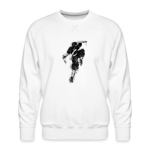 ninja - Felpa premium da uomo