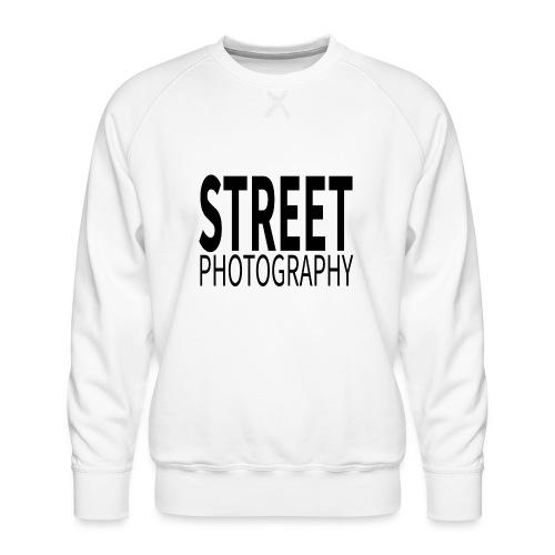 Street photography Black - Felpa premium da uomo