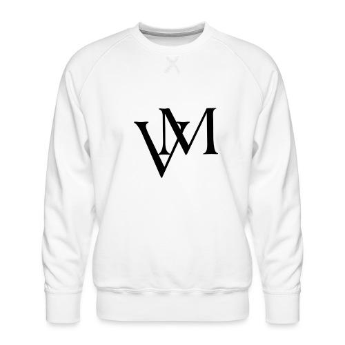Lettere VM - Felpa premium da uomo