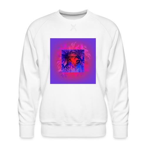 Tropical Summer Nights - Men's Premium Sweatshirt