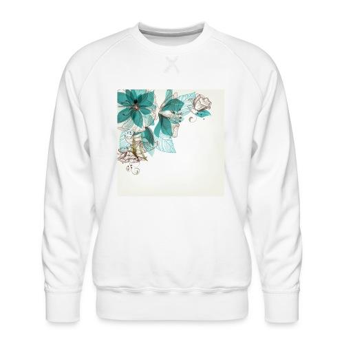 Tropical Flora - Men's Premium Sweatshirt