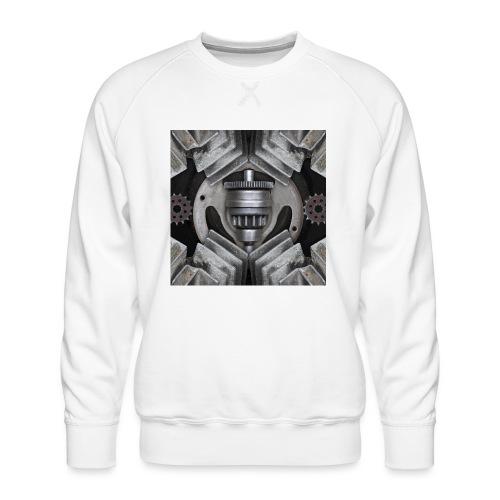 metalen motor onderdelen - Mannen premium sweater