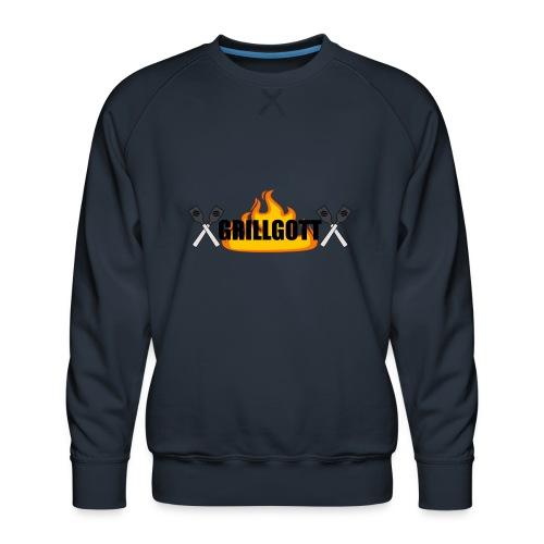 Grillgott Meister des Grillens - Männer Premium Pullover