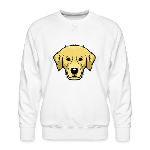 Perro - Sudadera premium para hombre