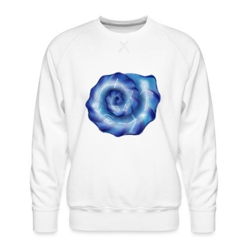 Galaktische Spiralenmuschel! - Männer Premium Pullover