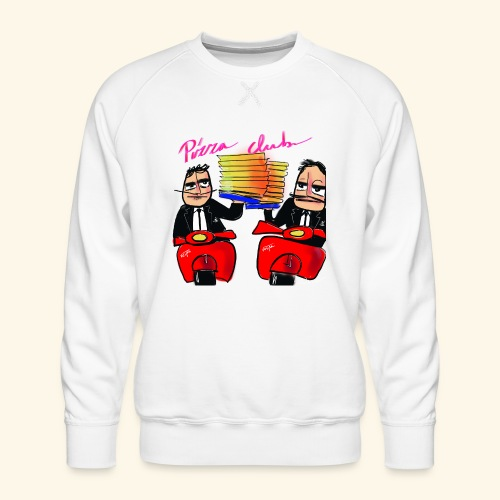 Pizza Club - Mannen premium sweater