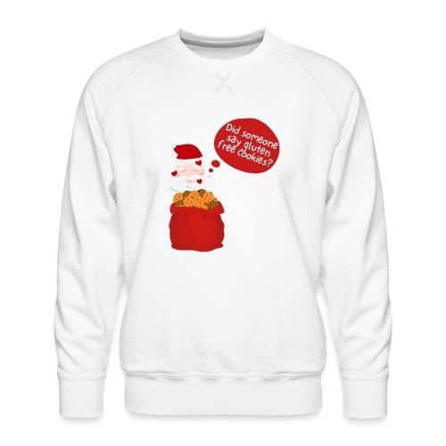 Santa goes gluten free - Männer Premium Pullover