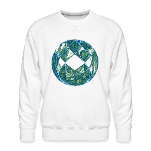 Harmonie im Ozean der Elemente 446oce - Männer Premium Pullover