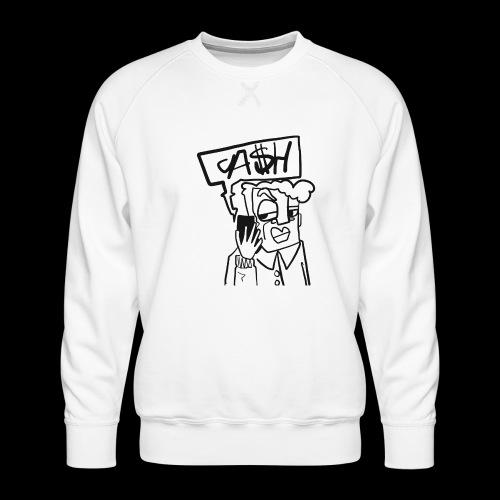 Cash on the phone - Mannen premium sweater