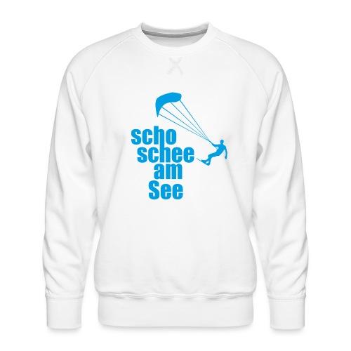 scho schee am See Surfer 01 kite surfer - Männer Premium Pullover