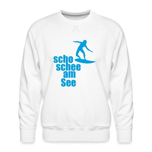 scho schee am See Surfer 04 - Männer Premium Pullover