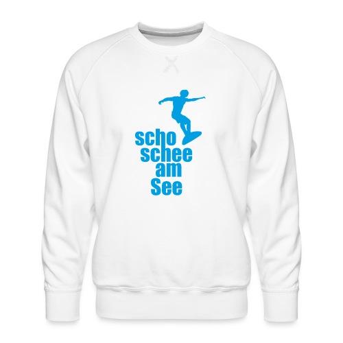 scho schee am See Surfer 02 - Männer Premium Pullover