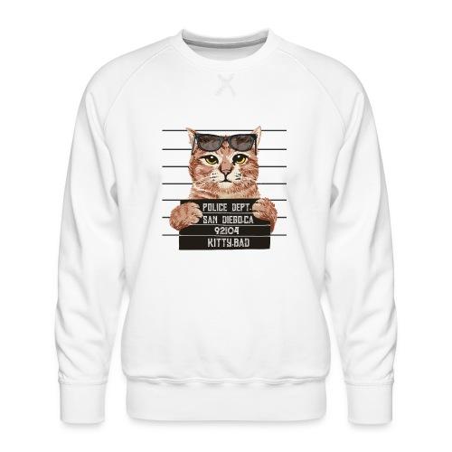 kitty bad - Sweat ras-du-cou Premium Homme
