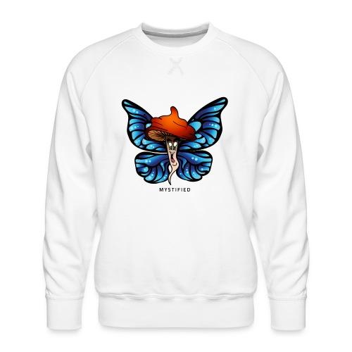 Mystified Butterfly - Mannen premium sweater