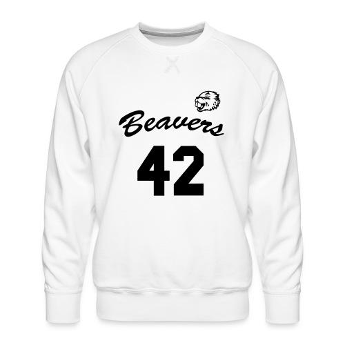 Beavers front - Mannen premium sweater