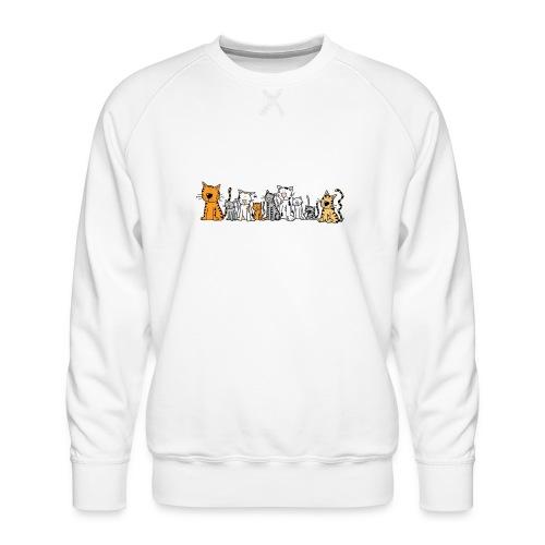 Cats & Cats - Mannen premium sweater