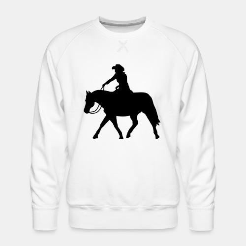 Ranch Riding extendet Trot - Männer Premium Pullover