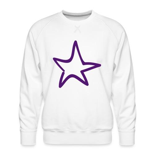 Star Outline Pixellamb - Männer Premium Pullover